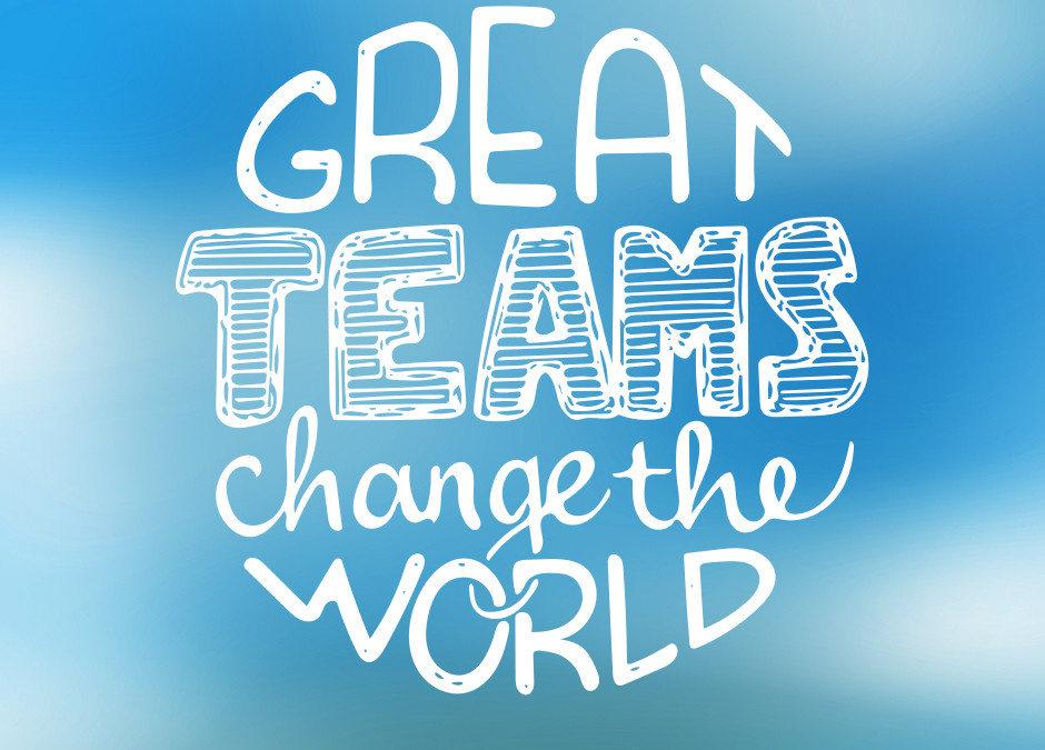 Great Teams Change the World